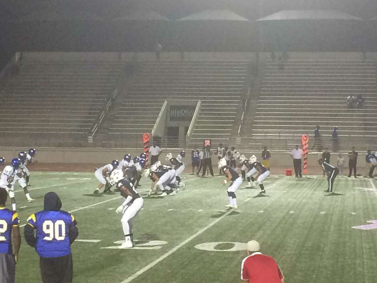 The Atascocita Eagles' defense held the Channelview Falcons to just 190 total yards of offense in the Eagles' 62-7 win on Thursday night at Turner Stadium
