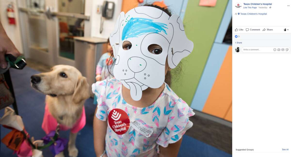 Elsa celebrates her one-year anniversary of working with patients, family and staff at Texas Children's Hospital.