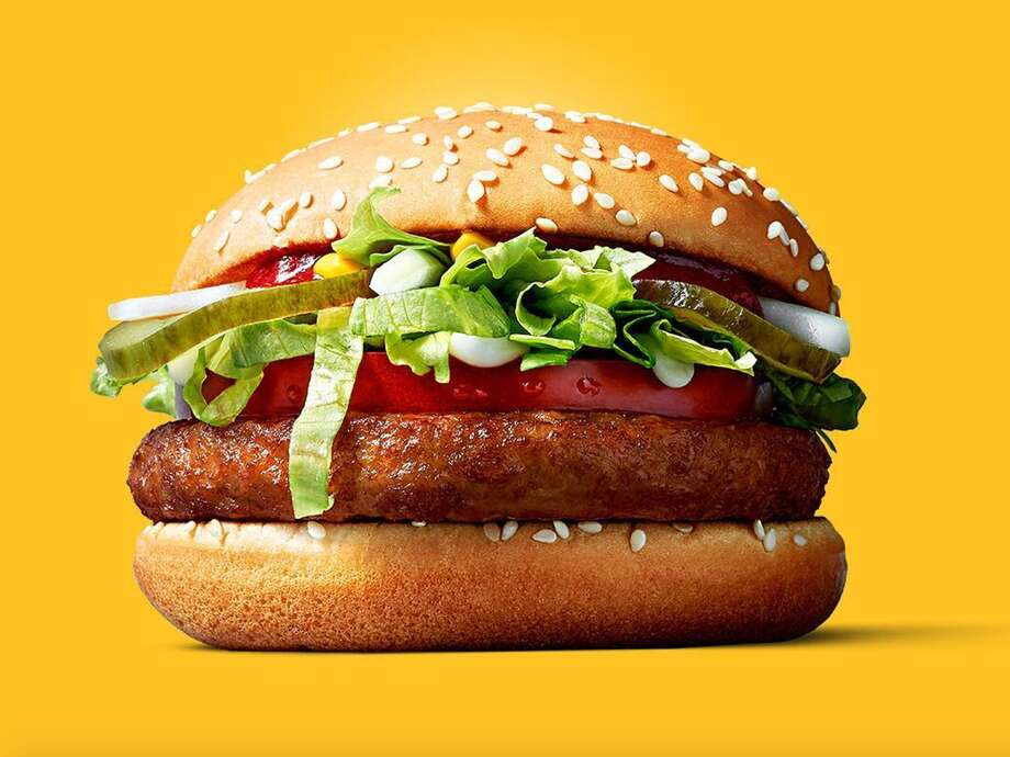 """On Thursday, Oct. 6, 2017, news broke that McDonald's is testing a vegan burger. The """"McVegan"""" will only be sold at McDonald's in Tampere, Finland, Today reported. And, the burger will only be on sale from October 4 through November 21. Photo: McDonald's Finland"""