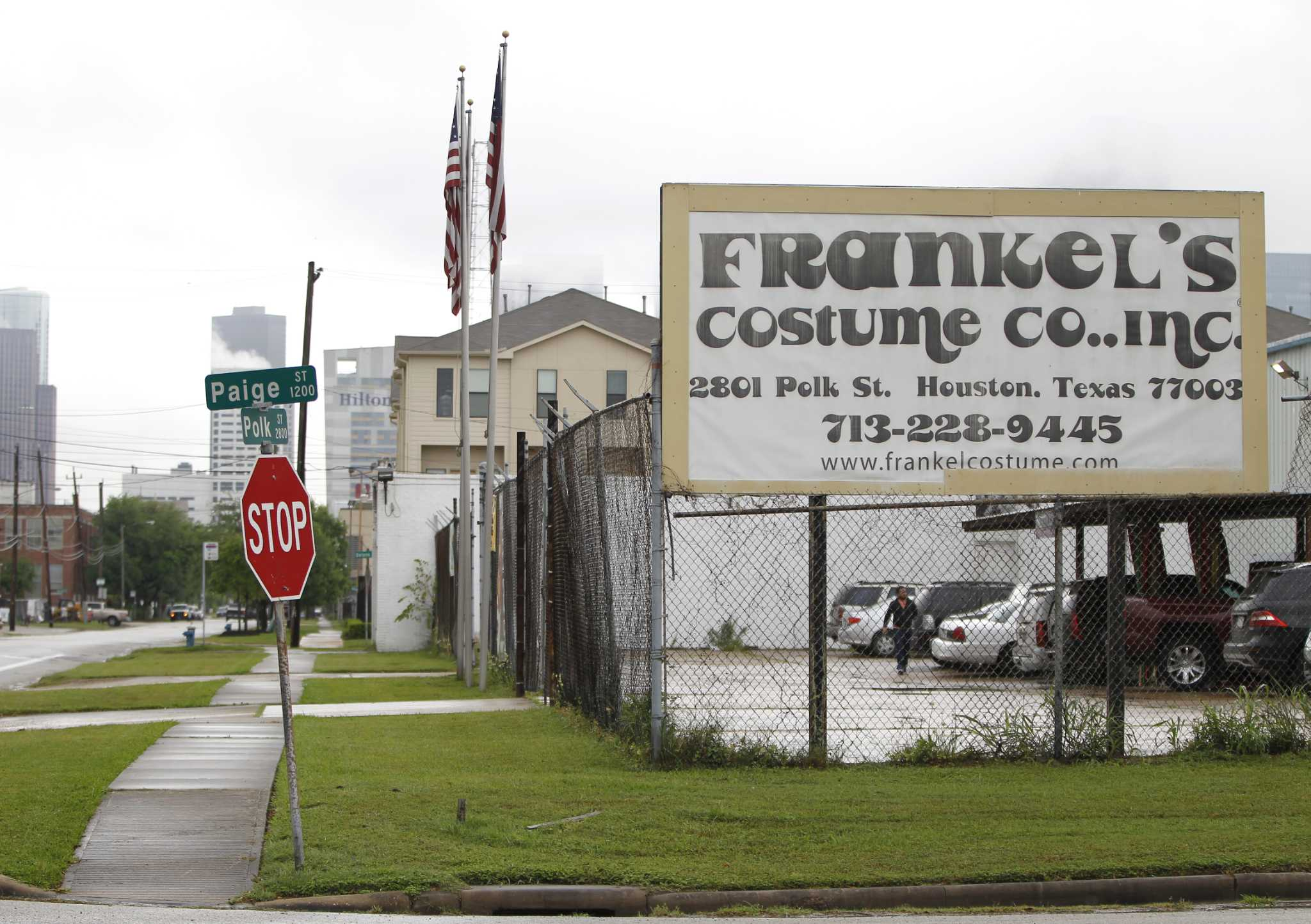 this will be the last halloween for houston's frankel's costume