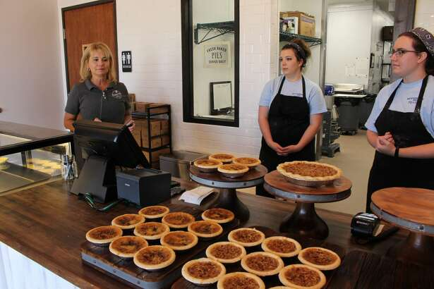 Buttermilk Sky Pie Shop opened Friday Oct. 6  at Cornerstone shopping center.