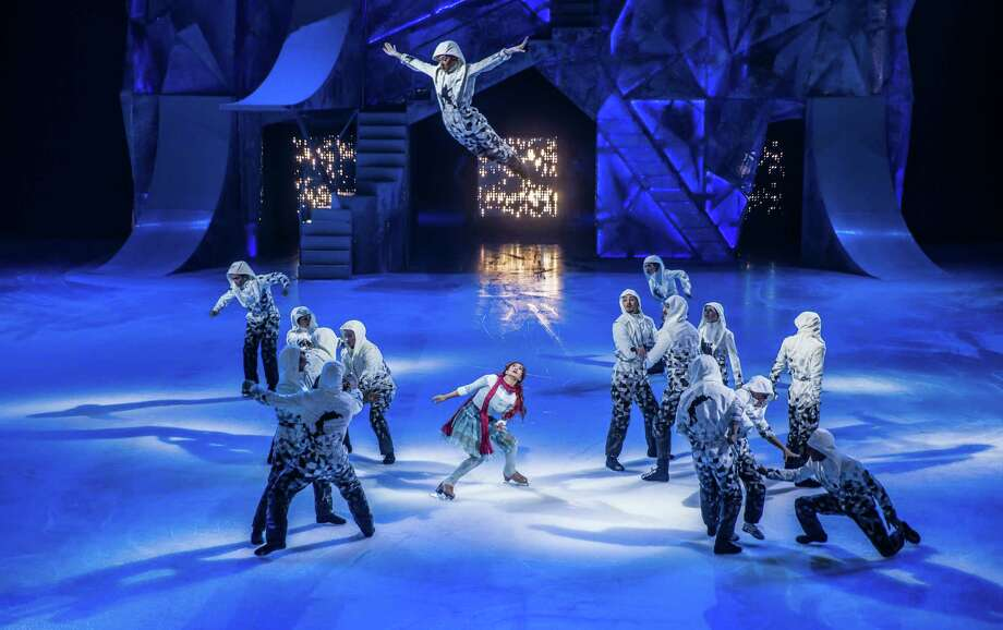Cirque du Soleil Crystal is the famed troupe's first spectacle set on ice. The new show follows a young woman's journey to figure out her destiny, a tale told through all sorts of acrobatics.Opens Friday. 7:30 p.m. Friday, 3:30 and 7:30 p.m. Saturday and 1 and 5 p.m. Sunday, AT&T Center, 1 AT&T Center. $29 to $115 at ticketmaster.com.-- Deborah Martin Photo: Courtesy Matt Beard / Matt Beard Photography / Cirque Du Soleil