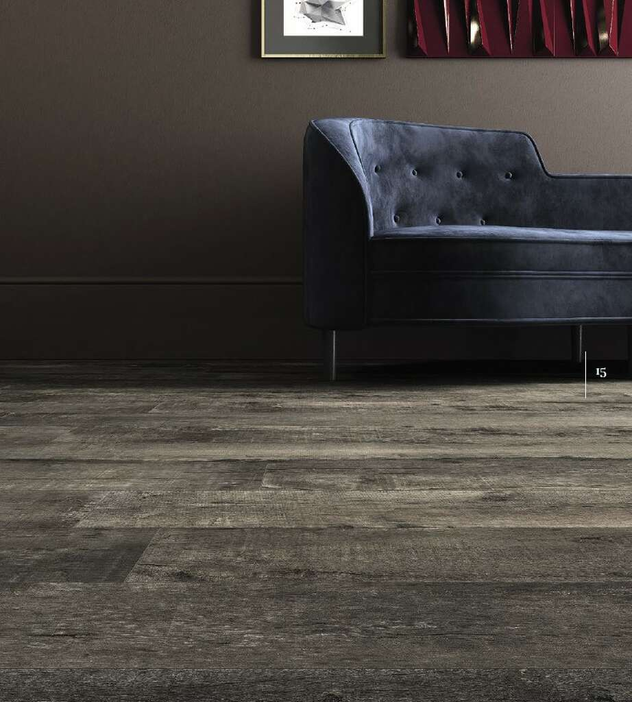 This Room Shows Imolau0027s Nirvana Style Porcelain Tile That Looks Like Wood.  Photo: Thorntree