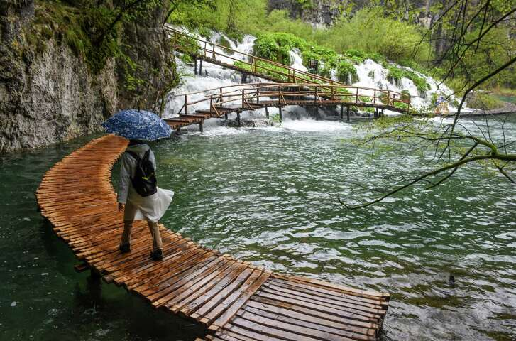 Plitvice Lakes National Park is one of the country's most-visited sites.
