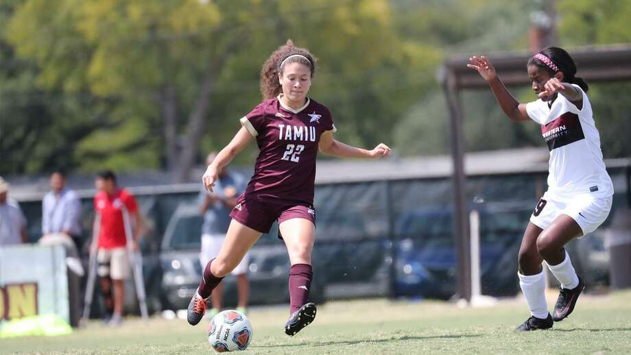 Nicole Cohen and TAMIU travel to face St. Mary's at 2:30 p.m. Saturday. Photo: Courtesy Of Midwestern State Athletics