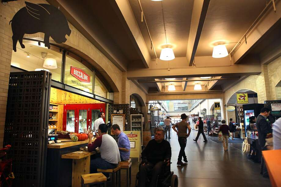 Boccalone at the Ferry Building is closing this month. Photo: Liz Hafalia, The Chronicle