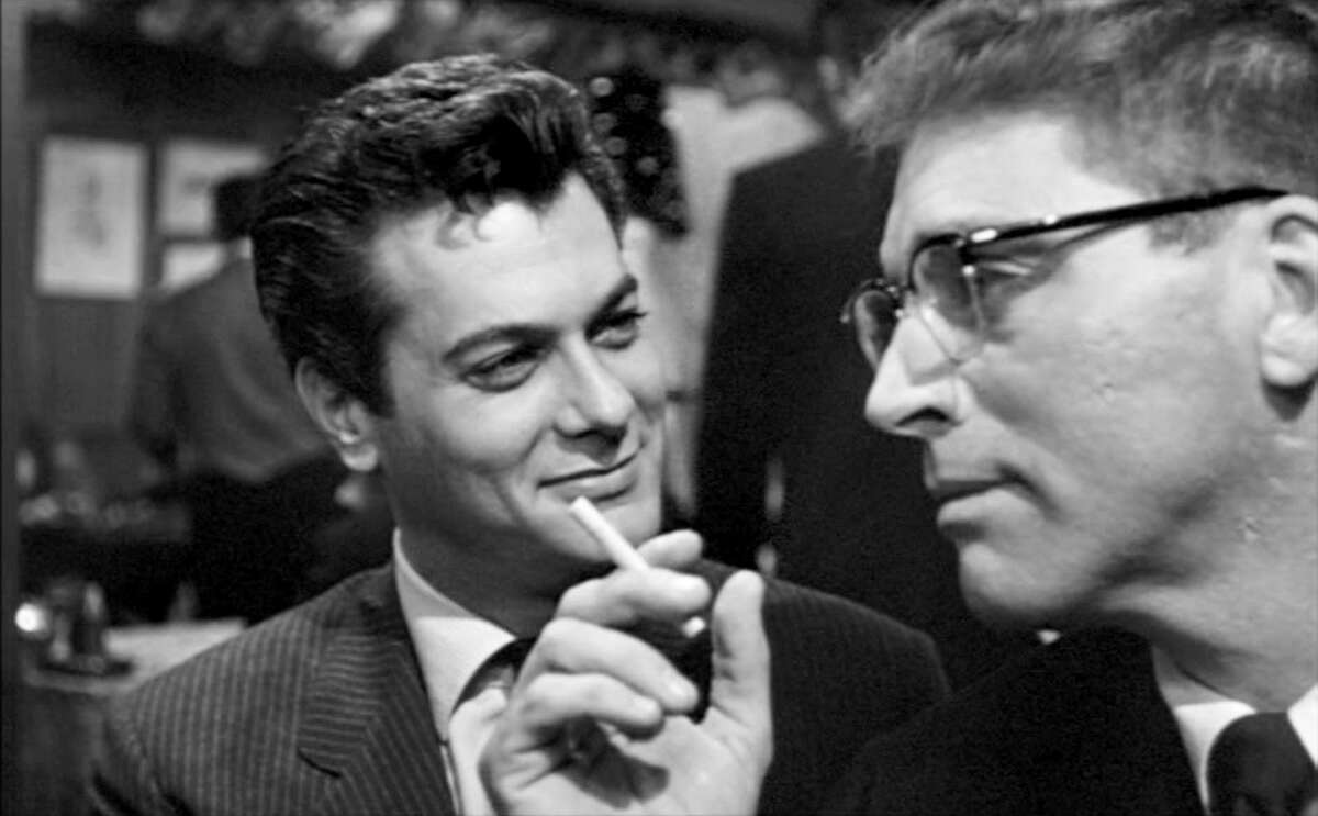 Tony Curtis and Burt Lancaster co-star in the 1957 drama