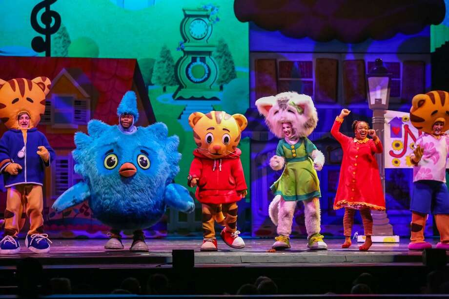 """""""Daniel Tiger's Neighborhood Live: King for a Day!"""" is on stage at The Palace Theatre in Stamford on Friday, Oct. 13. Photo: Daniel Tiger's Neighborhood Live: King For A Day! / Contributed Photo"""