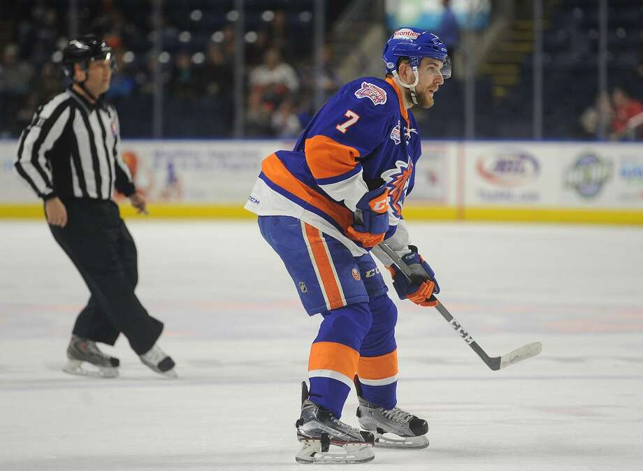 Devon Toews. Bridgeport Sound Tigers v. Hershey Bears AHL hockey at the Webster Bank Arena in Bridgeport, Conn. on Sunday, February 19, 2017. Photo: Brian A. Pounds / Hearst Connecticut Media / Connecticut Post