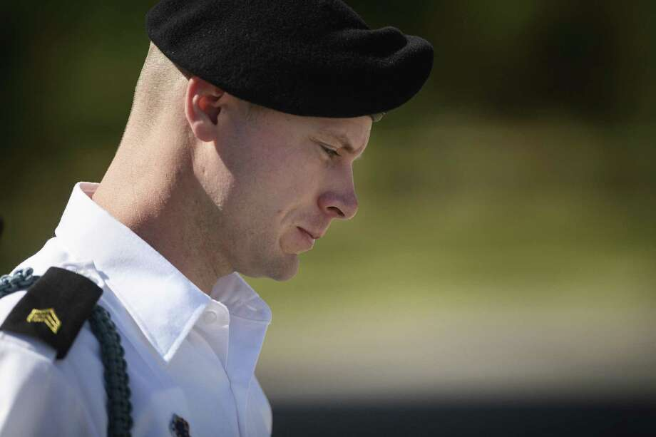 Army Sgt. Bowe Bergdahl leaves a motions hearing during a lunch break on Wednesday, Sept. 27, 2017, in Fort Bragg, N.C.  A military judge has denied efforts by Bergdahl to gather more information on discussions between a prosecutor and the Trump administration.  Bergdahl faces court-martial on charges that he endangered comrades by walking off his post in Afghanistan in 2009.  (Andrew Craft/The Fayetteville Observer via AP) Photo: Andrew Craft, MBI / Associated Press / Andrew Craft
