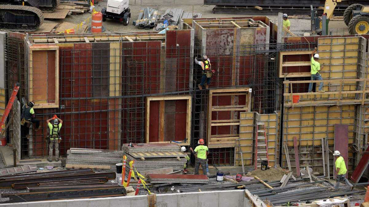 Construction work continues on The Pediatric Emergency Department at Albany Med on Thursday, Oct. 5, 2017, in Albany, N.Y. The dedicated emergency department for children is scheduled to be finished in 2018. (Paul Buckowski / Times Union)