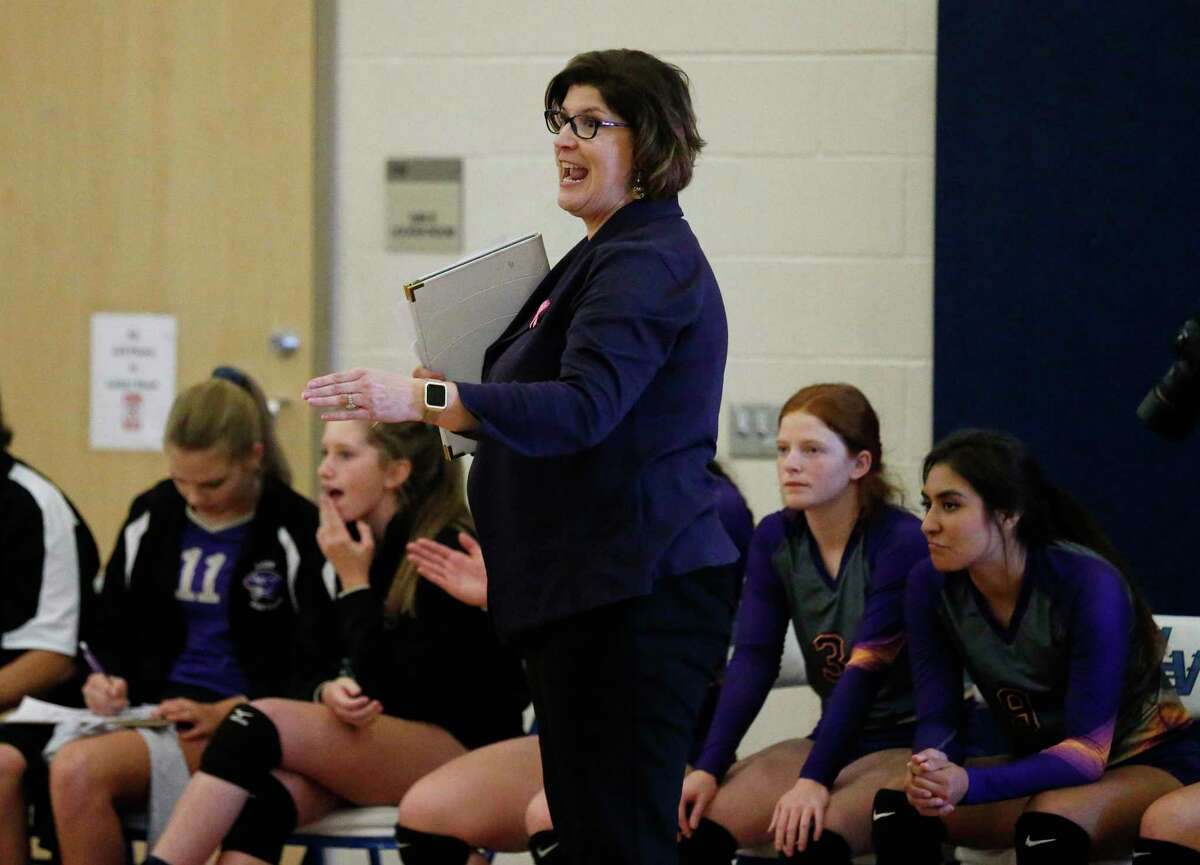 Navarro coach Nicole Blakeman and her Panthers finished first at the San Antonio Christian tournament, defeating the host in the final.