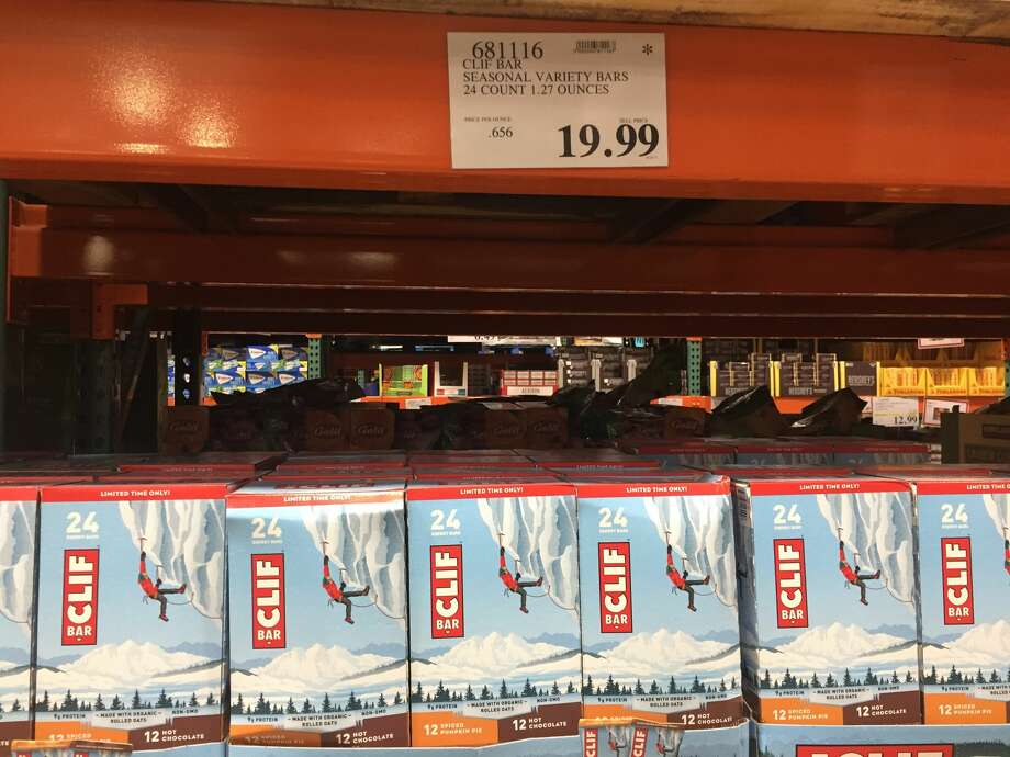 Clif Bar, variety 24-packIn-store price: $19.99CostcoGrocery price: $22.89Net price increase: +14.5 percent Photo: Michelle Robertson/SFGATE