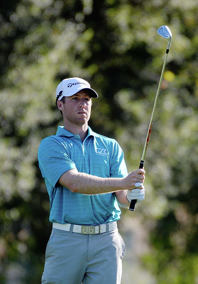 NAPA, CA - OCTOBER 06:  Tyler Duncan plays his shot on the third hole during the second round of the Safeway Open at the North Course of the Silverado Resort and Spa on October 6, 2017 in Napa, California.  (Photo by Robert Laberge/Getty Images) ORG XMIT: 775054931 Photo: Robert Laberge / 2017 Getty Images