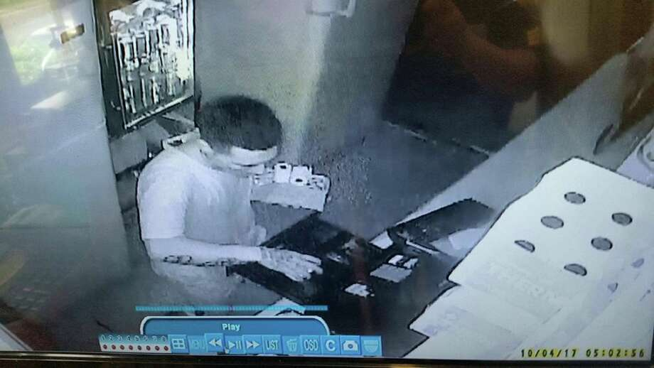 Authorities said they need to identify this man in connection with a burglary at a local Taco Mais. Photo: Laredo Police/Courtesy