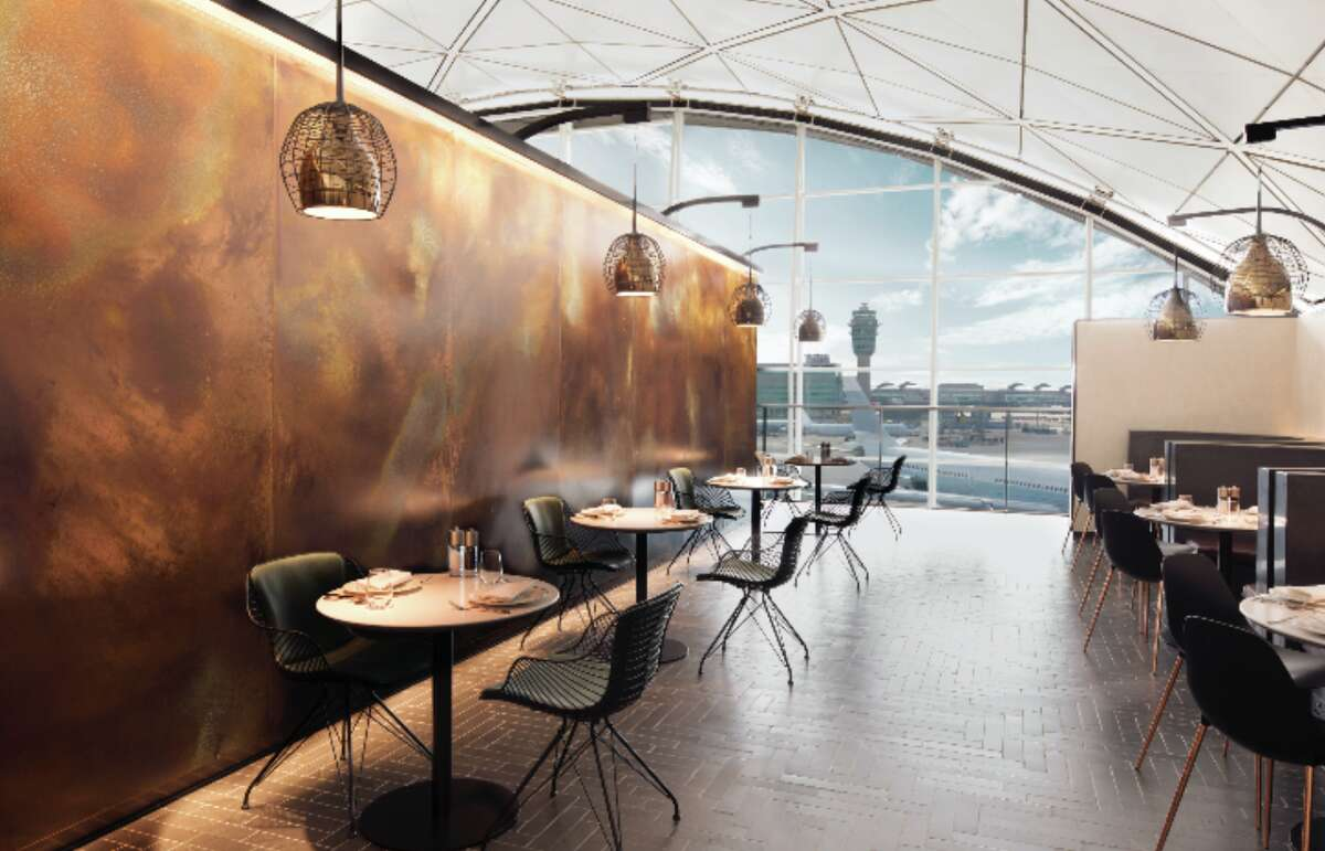 American Express opened a new lounge in Hong Kong this week