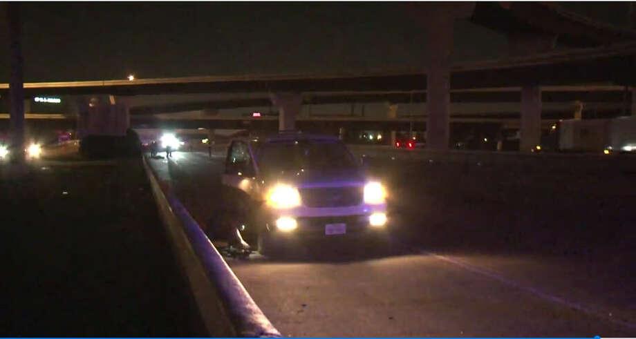Driver hits and kills man on North Freeway near Beltway