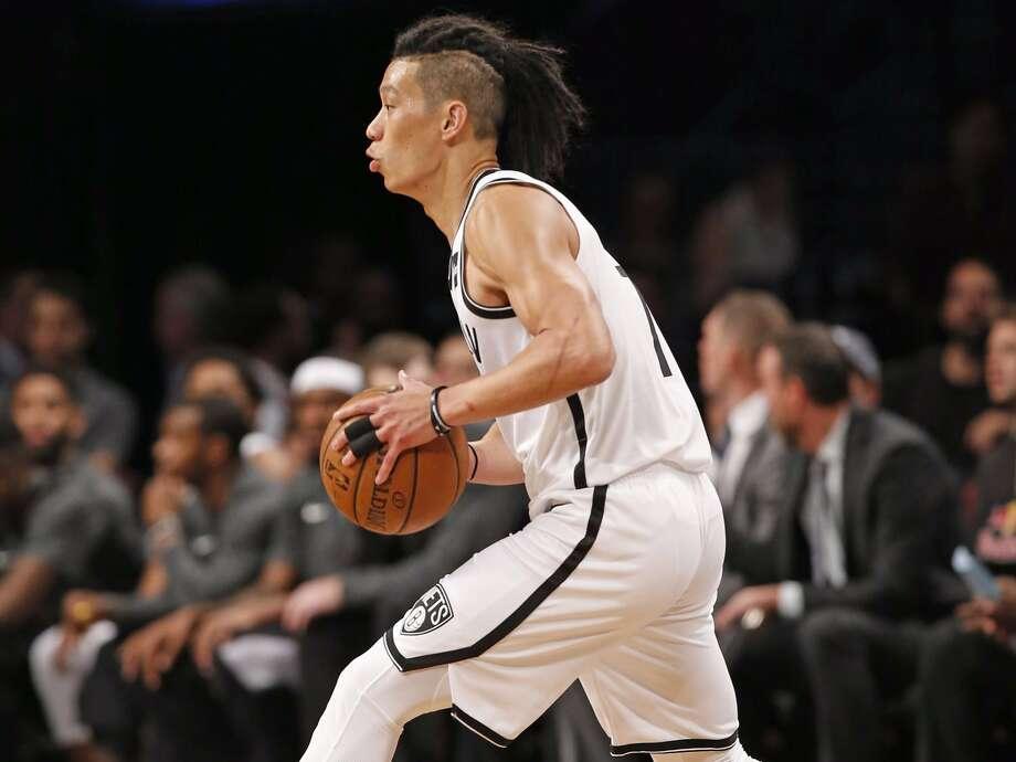 Nets point guard Jeremy Lin. Photo: Kathy Willens/AP