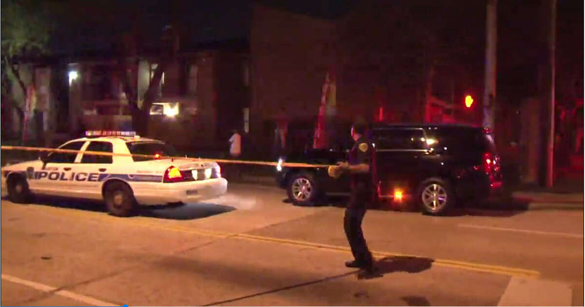 A man was found dead Friday night lying on the ground with multiple gunshot wounds in north Houston, police said. Police found the man in the 900 block of Greens Road at the Woods of Greenbriar apartment complex, according to Kyle Heaverlo with the Houston Police Department.