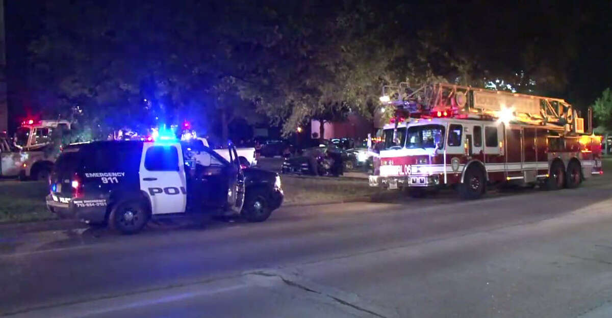 Multiple people injured from a collision at Richmond and Hillcroft.