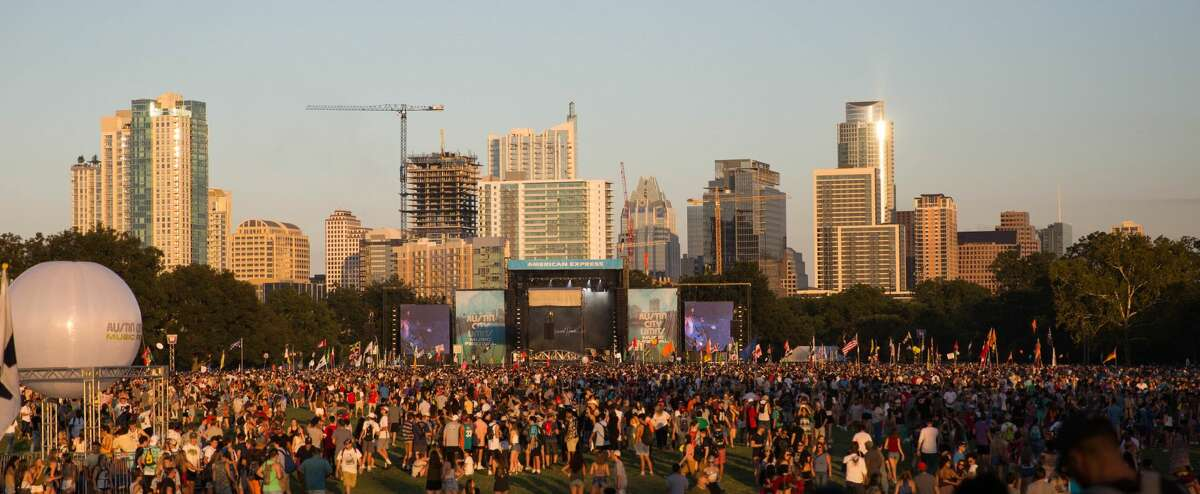 ACL Music Festival returns October 1-3 and 8-10 to Austin's Zilker Park.