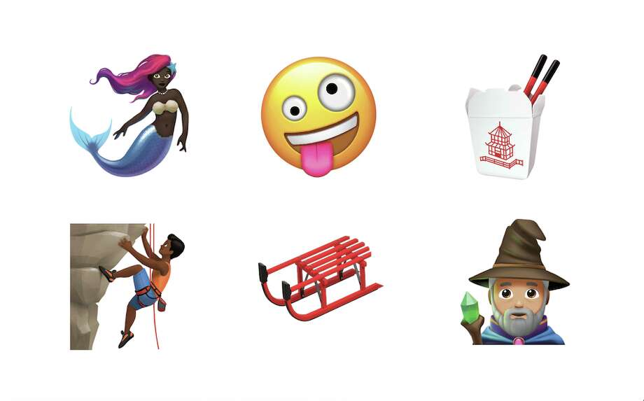 Click through the slideshow to see some of the new emojis that are being released with iOS 11.1. Photo: Apple
