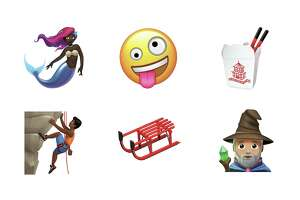 Click through the slideshow to see some of the new emojis that are being released with iOS 11.1.