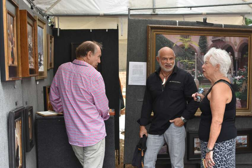 The annual Greenwich Outdoor Arts Festival took place at the Bruce Museum on October 7-8, 2017. Festival goers enjoyed fine contemporary art as well as demonstrations, family art activities, a children's drawing contest and food. Were you SEEN?
