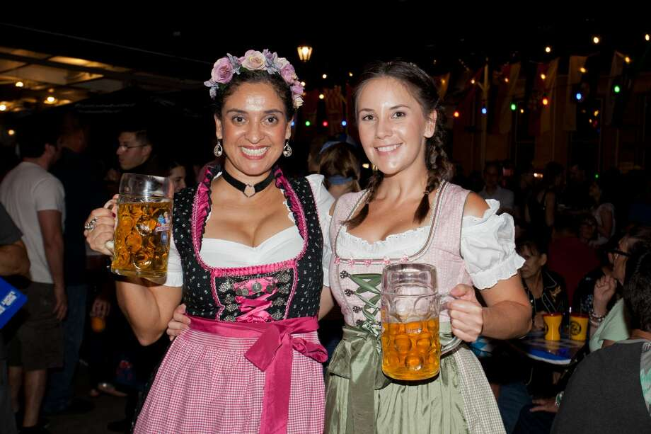 A good old fashioned sudys time was had to celebrate German culture as Oktoberfest kicked off Friday night, Oct. 6, 2017, at Beethoven Maennerchor. Photo: Steven Casanova For MySA