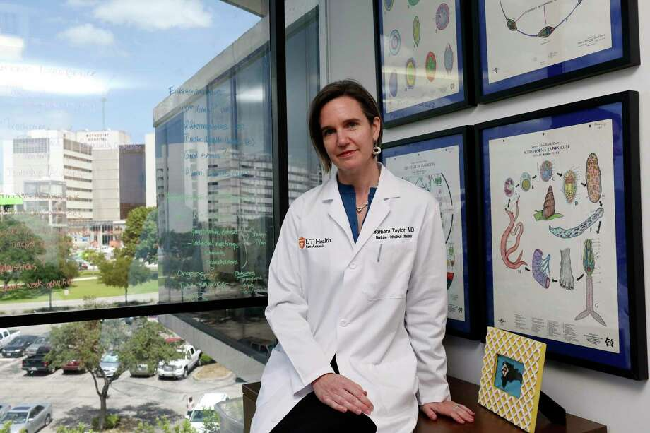 Dr. Barbara Taylor, an associate professor of infectious diseases and the assistant dean for the MD/MPH program at UT Health San Antonio, will be joining the Editorial Board to discuss COVID-19. You are invited to join us. Photo: JERRY LARA /San Antonio Express-News / San Antonio Express-News