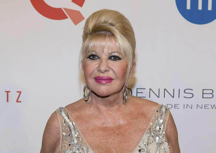 In this May 9, 2016 file photo, Ivana Trump, ex-wife of President Donald Trump, attends the Fashion Institute of Technology Annual Gala benefit in New York.  Photo: Michael Zorn, Associated Press