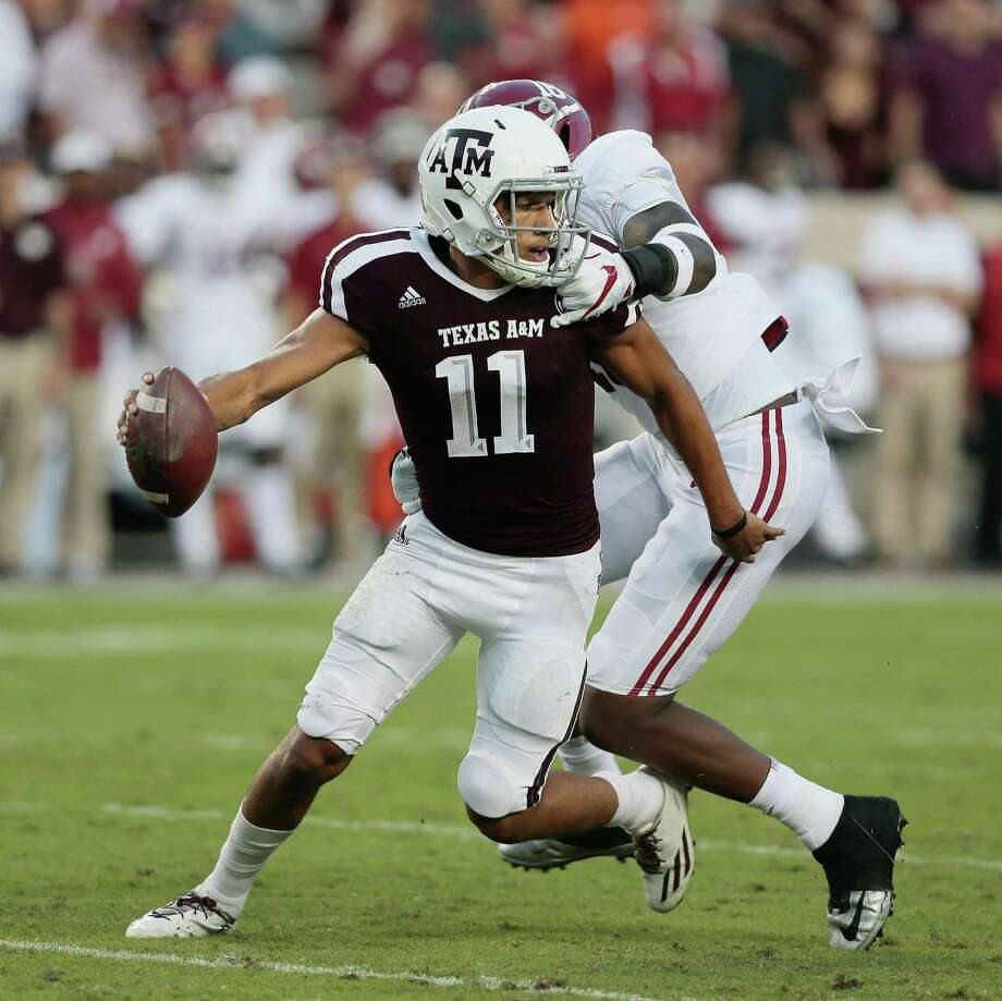 Texas A&M quarterback Kellen Mond and the Aggies travel to Florida next week. Photo: Bob Levey /Getty Images / 2017 Getty Images