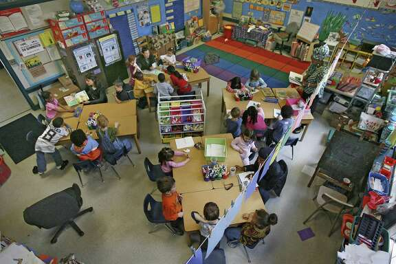 California's standardized test scores for English are mysteriously frozen in place.