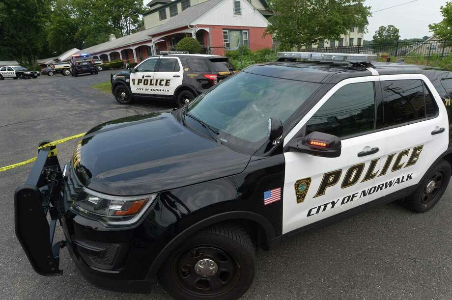 File photo of Norwalk police car Photo: Erik Trautmann / Hearst Connecticut Media / Norwalk Hour