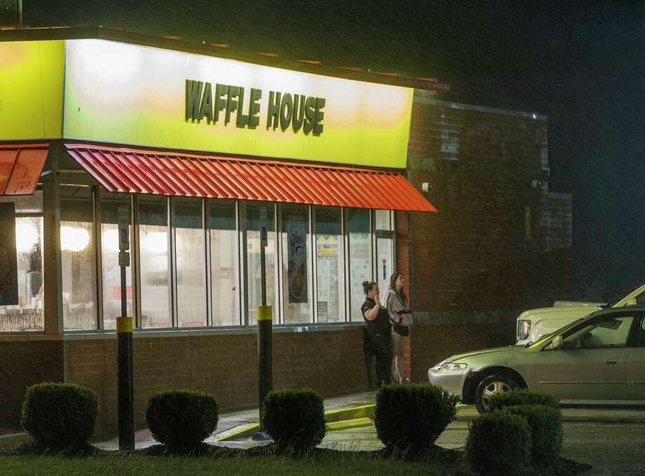 FILE - A 2017 photo of a Waffle House restaurant. Customers helped a lone employee on the midnight shift with running the restaurant in Birmingham, Ala. on Nov. 3 Photo: Mark Wallheiser/Getty Images
