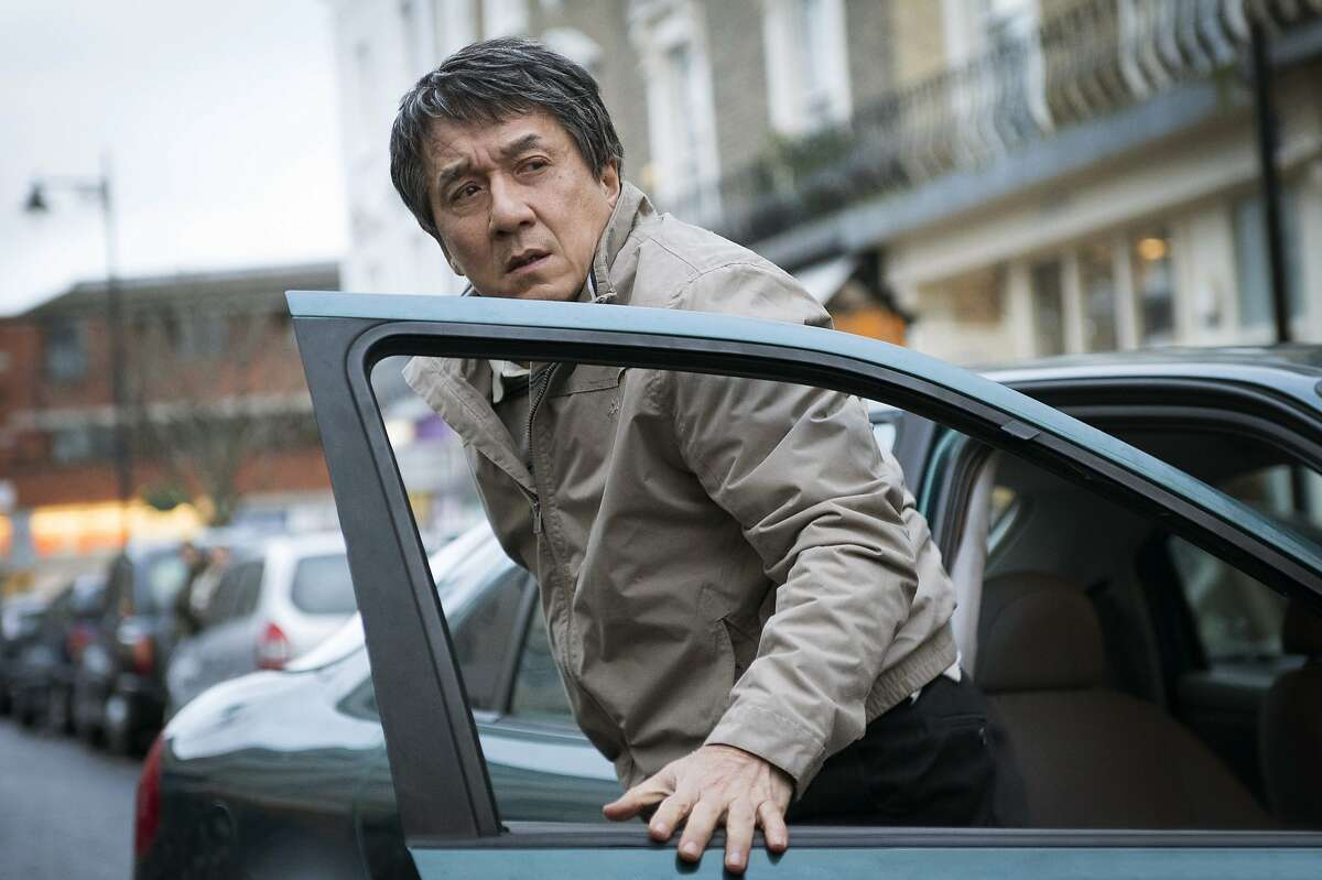 """This image released by STX Entertainment shows Jackie Chan in a scene from """"The Foreigner."""" (Christopher Raphael/STX Entertainment via AP)"""