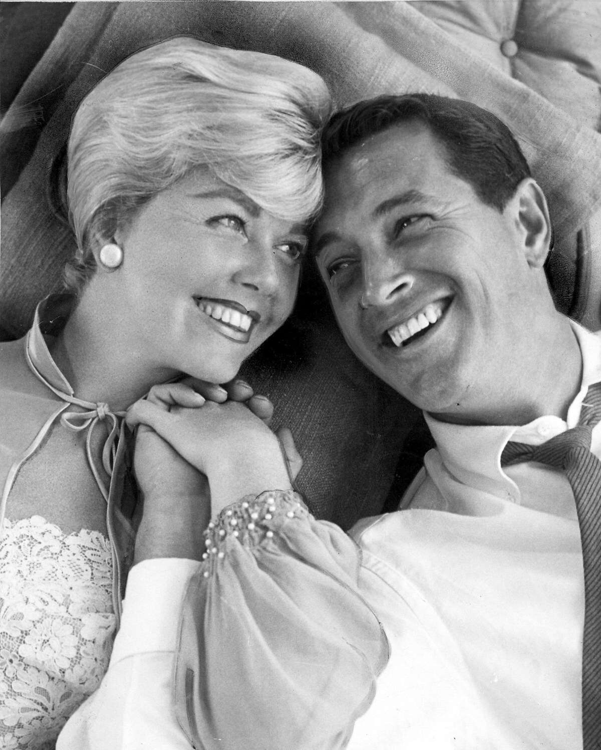 """Doris Day and Rock Hudson in """"Pillow Talk."""" Ran on: 02-12-2007 Rock Hudson, whose sexual orientation was rumored for decades, kept it hidden in order to star in films like Pillow Talk opposite Doris Day in 1959. Ran on: 10-03-2010 Rock Hudson with frequent co-star Doris Day in Pillow Talk."""