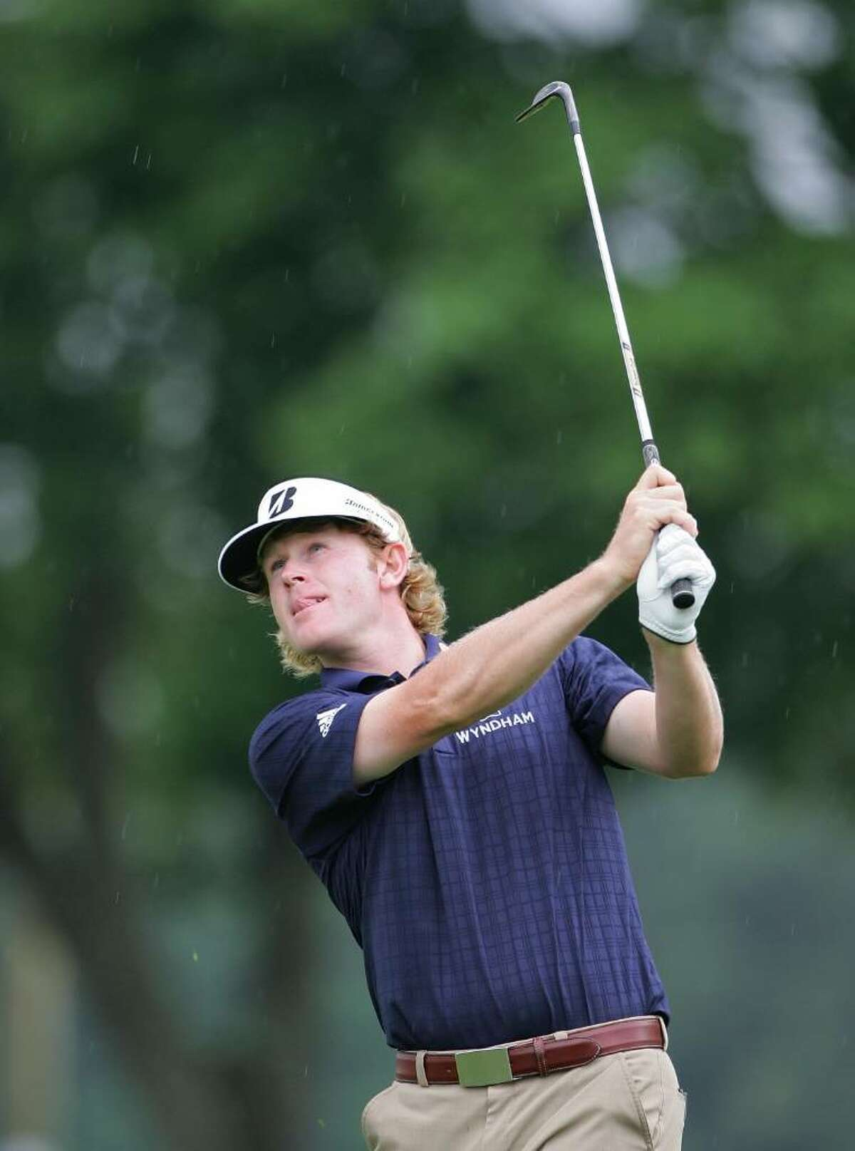 CROMWELL, CT - JUNE 24: Brandt Snedeker looks on during the first round of the Travelers Championship held at TPC River Highlands on June 24, 2010 in Cromwell, Connecticut. (Photo by Michael Cohen/Getty Images) *** Local Caption *** Brandt Snedeker