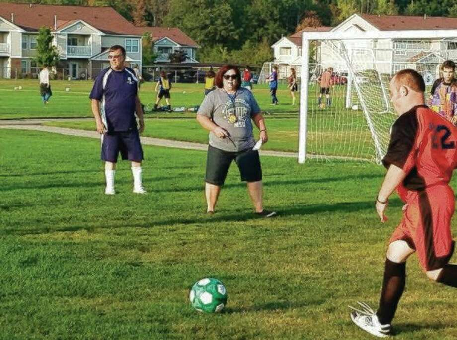 The end of this soccer season is a milepost for Mary Adams as she nears retirement later this year from her position as the director of Area 30 for Special Olympics Michigan. (Photo provided)