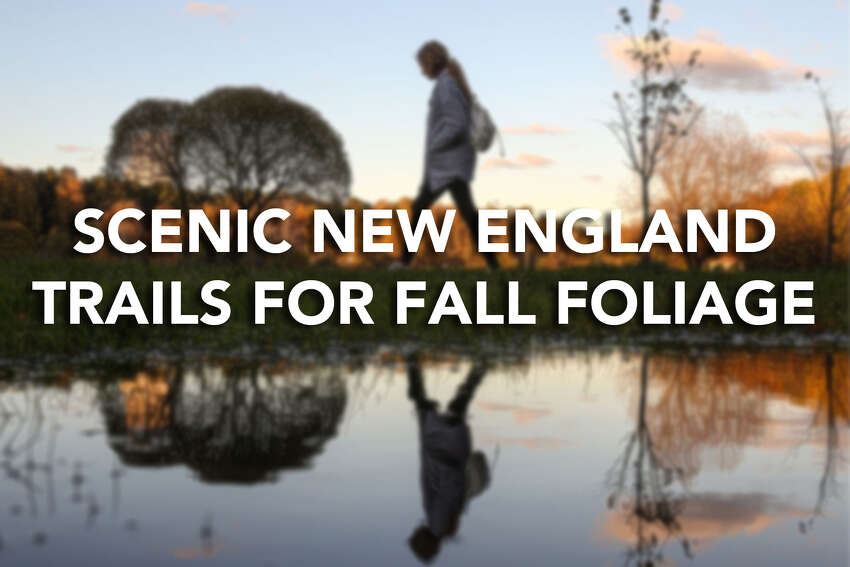 Click through the slideshow for a look at scenic trails across the New England area where you can catch fall foliage on foot.