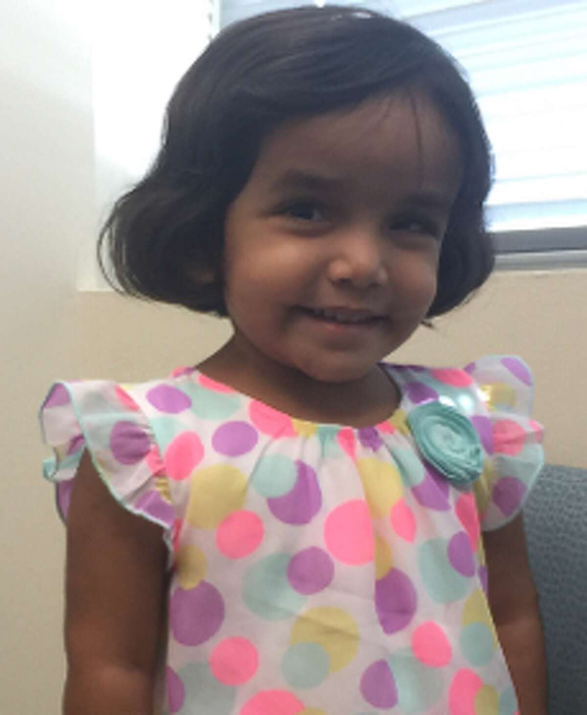The 3-year-old girl Sherin Mathews went missing Saturday after he father allegedly sent her outside alone as punishment for not finishing her milk. Now her father has been arrested. Swipe through to see photos of other missing children in Texas this year.