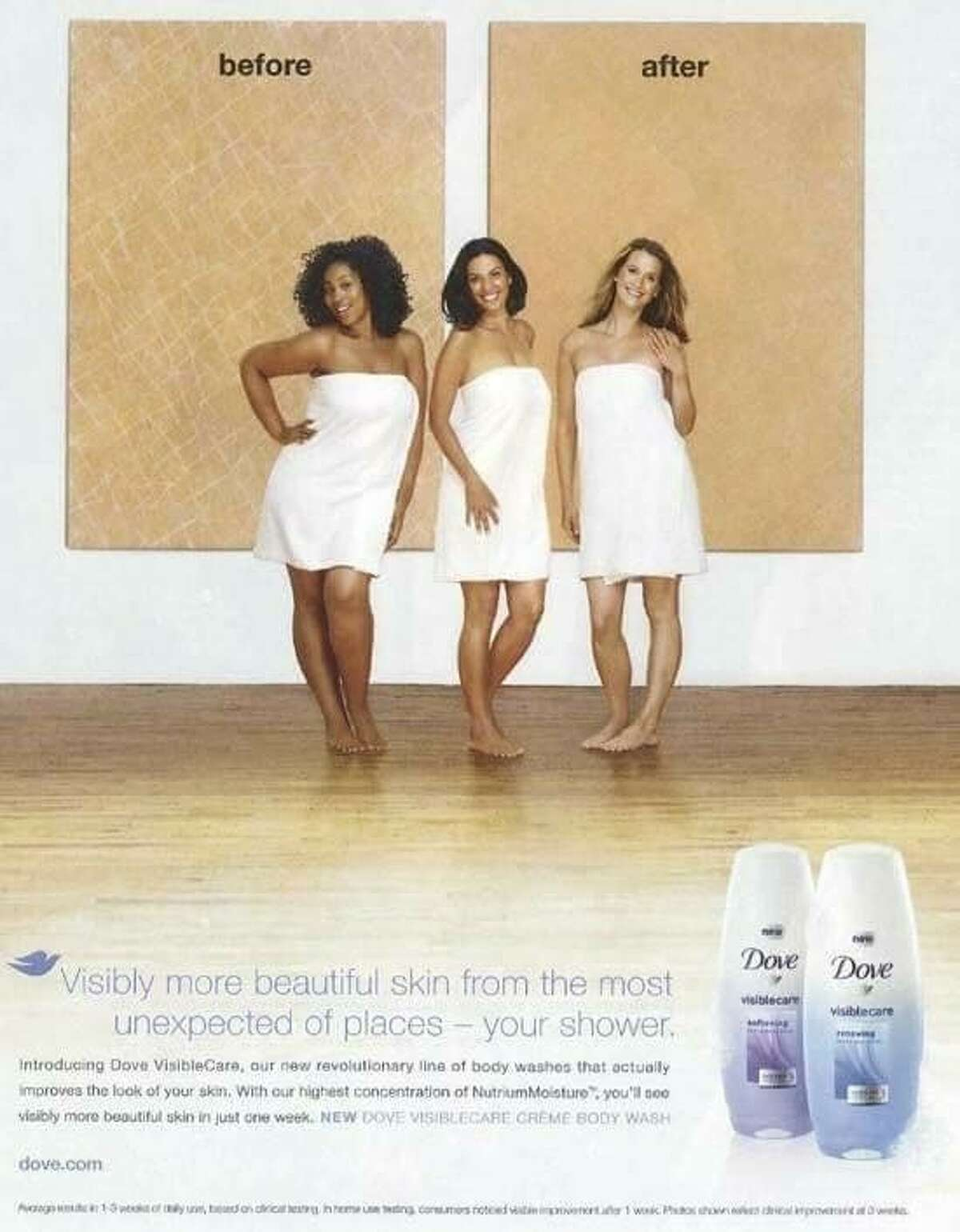 In 2011, Dove came under fire for this ad.
