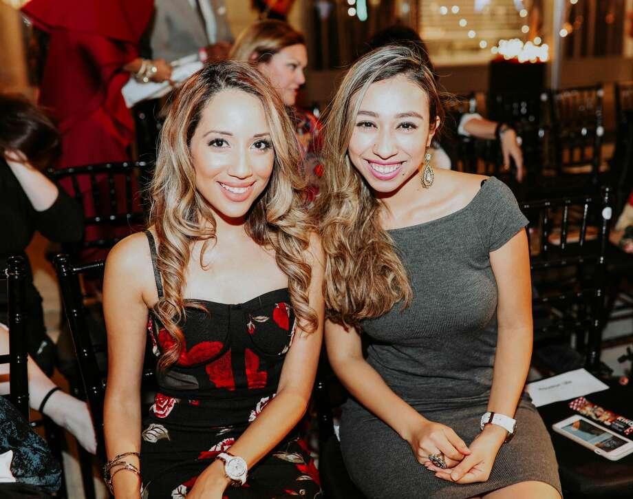 AT FASHION X HOUSTON: Stephanie Gonzalez, Neera Arya Photo: Erin Wiese