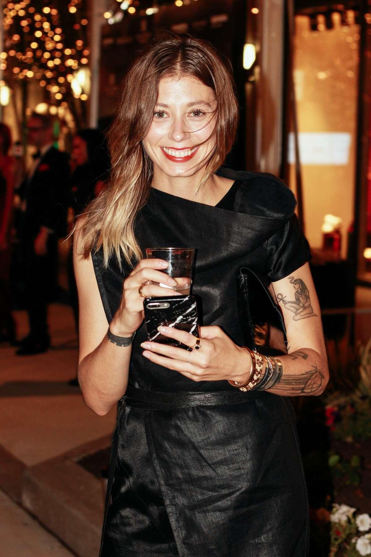 AT FASHION X HOUSTON: Designer Melissa Fleis