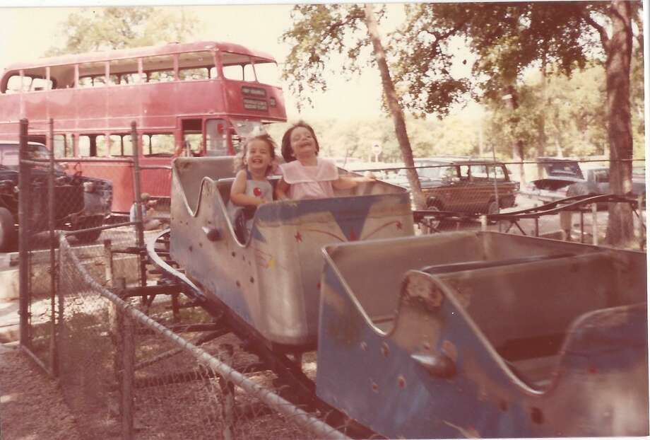 "The rise and fall of the ""Little Dipper."" Kiddie Park's aptly named ""Little Dipper"" roller coaster first roared through the park in the 1950s. It was later torn down to make room for more picnic tables and parking, though a few coaster carts and its old sign remain for throwback snapshots. Photo: Kiddie Park"