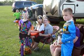 Campsites, candy, costumes, trick or treating and much more were featured throughout at the first annual Halloween Camping Weekend at the Huron Community Fairground.