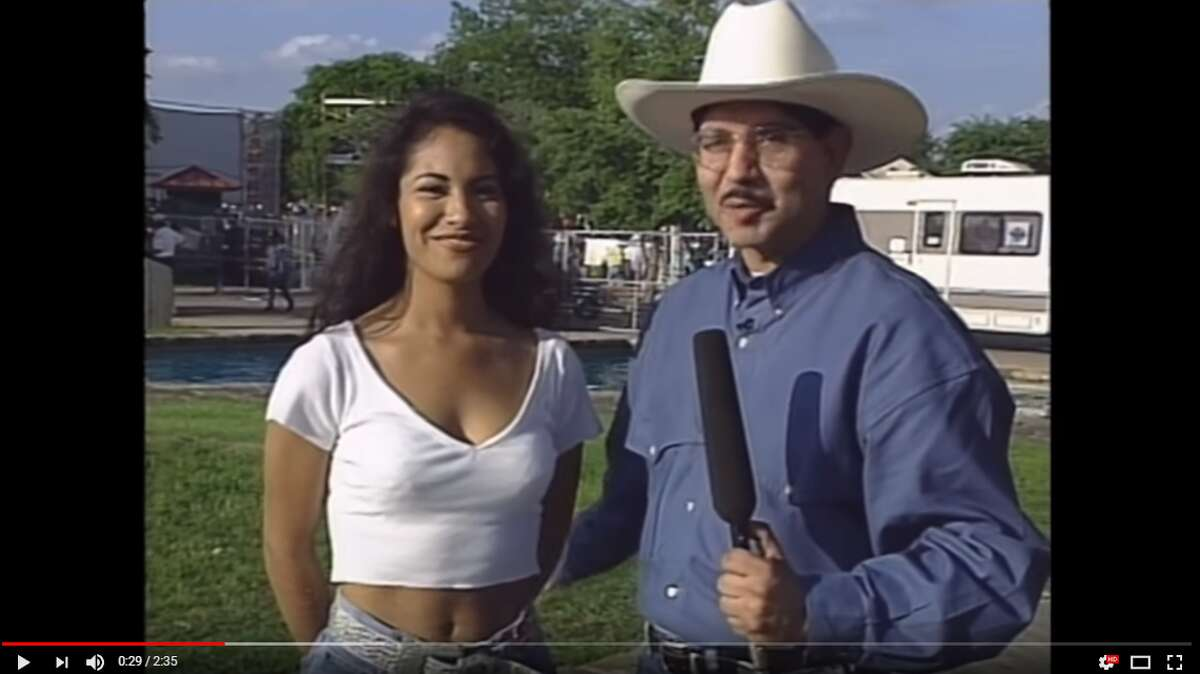 In 2017, a video showing the beloved Selena chatting away with a TV crew at downtown San Antonio's Hemisfair Park resurfaced after more than 20 years, enamoring fans across the country.