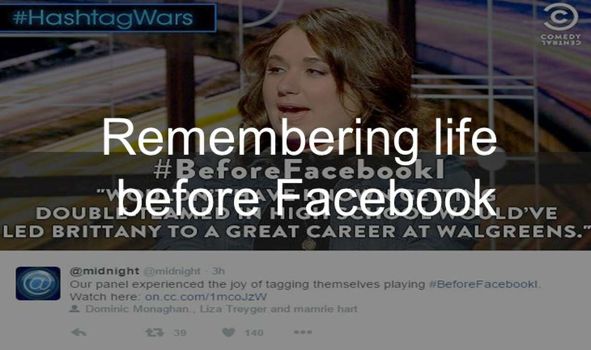 See what social media remembers about life before Facebook up ahead.