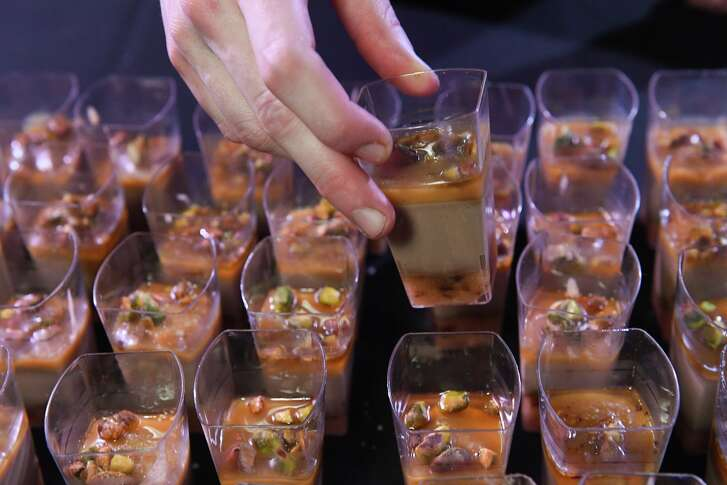 Chicken liver mousse from Pax Americana, one of the restaurants at the 2017 Epicurean Project held Oct. 4 sponsored by Martin Preferred Foods to benefit Recipe for Success.