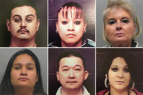 Click through this gallery to see mugshots of people arrested in connection with Laredo-area gambling promotions.